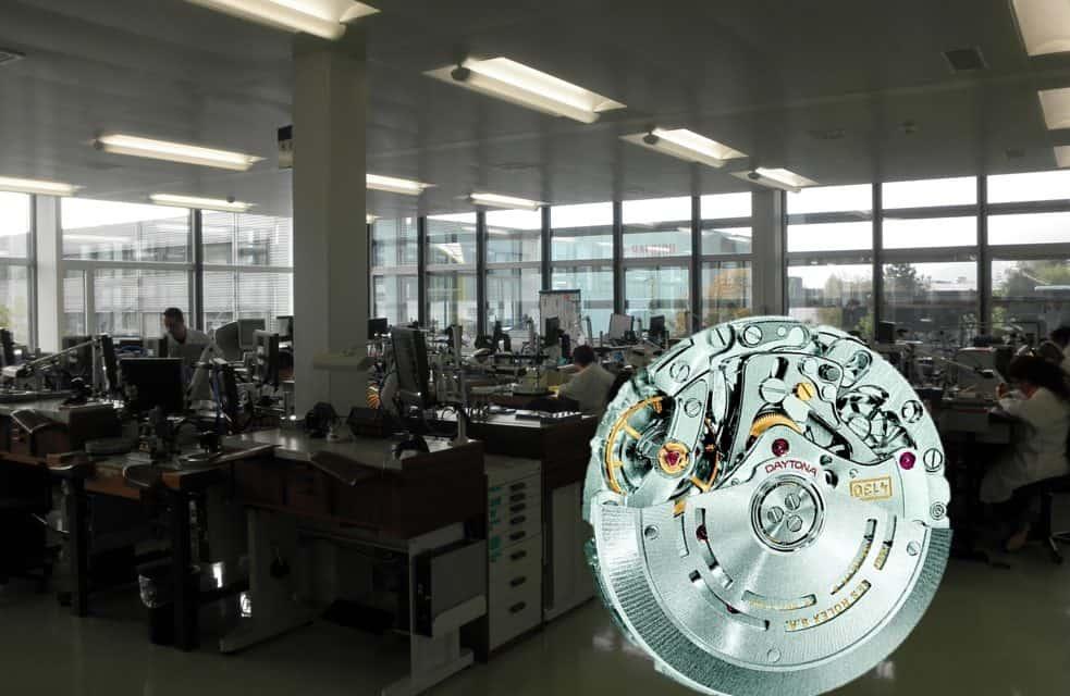 So erfolgt im Rolex Werk Biel die Assemblage und Regulierung