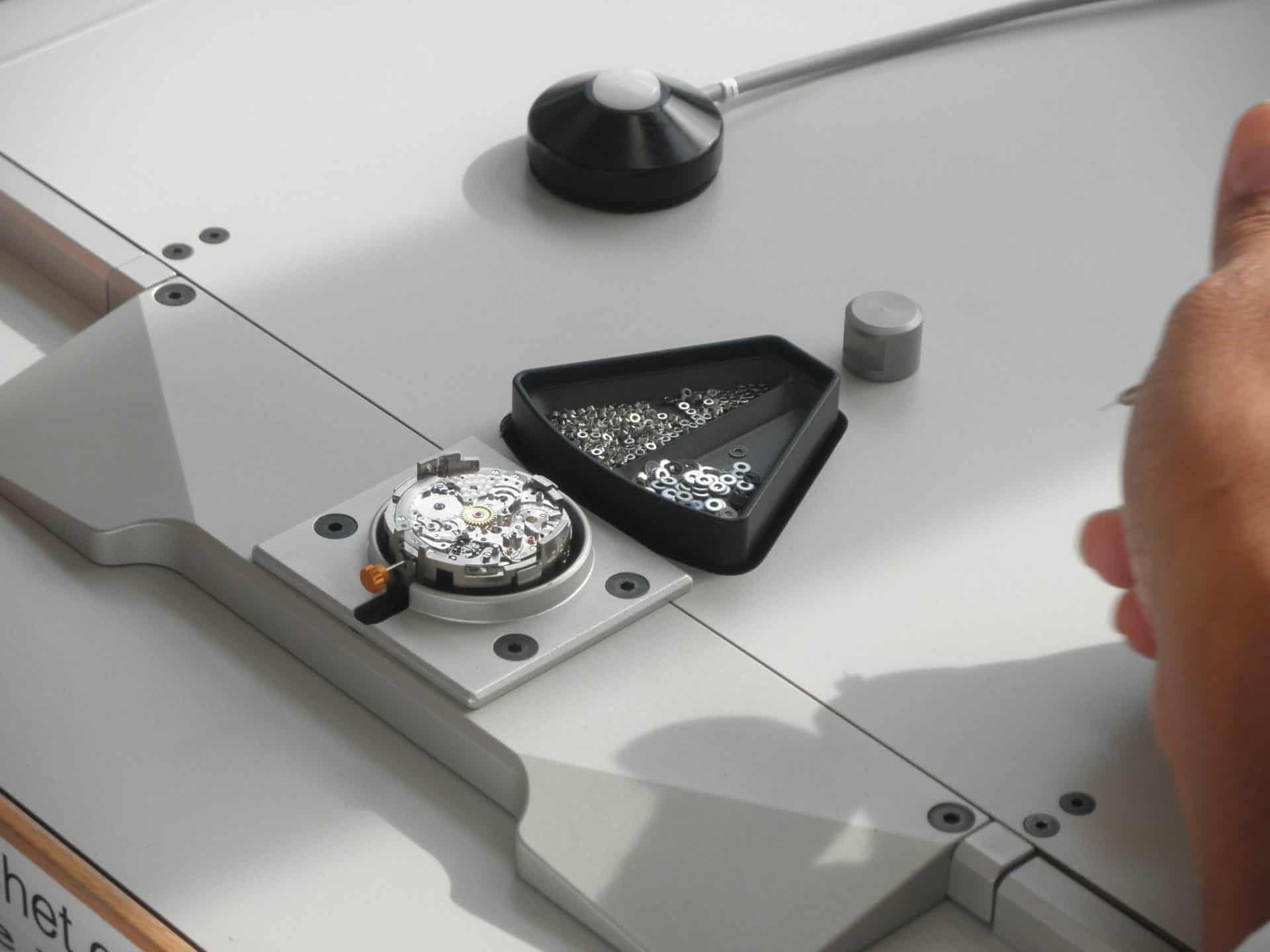 Schritt für Schritt zum Rolex Automatikkaliber 4130 mit Chronograph