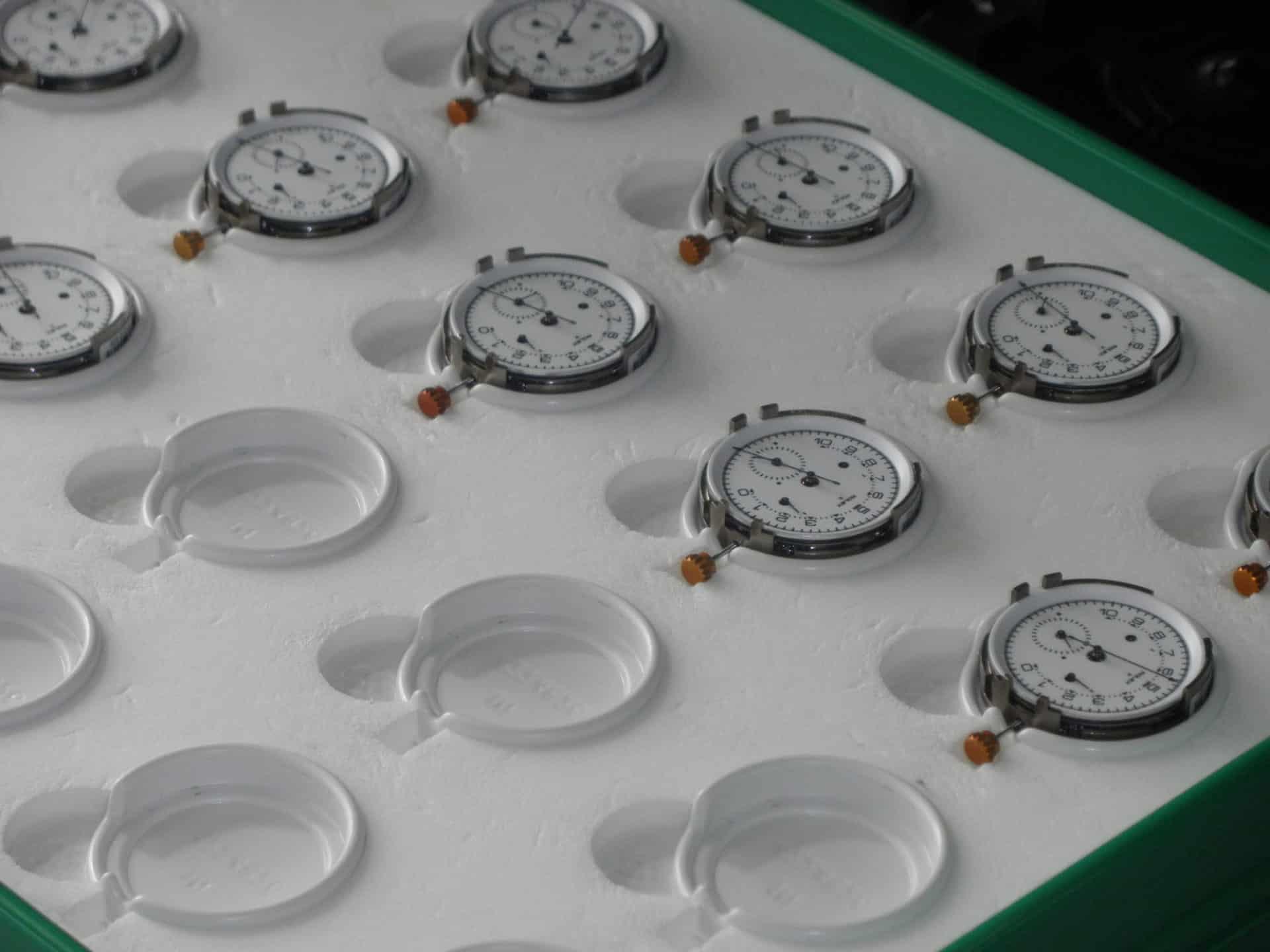 Rolex Biel Kaliber 4130 Check für COSC Foto GLB