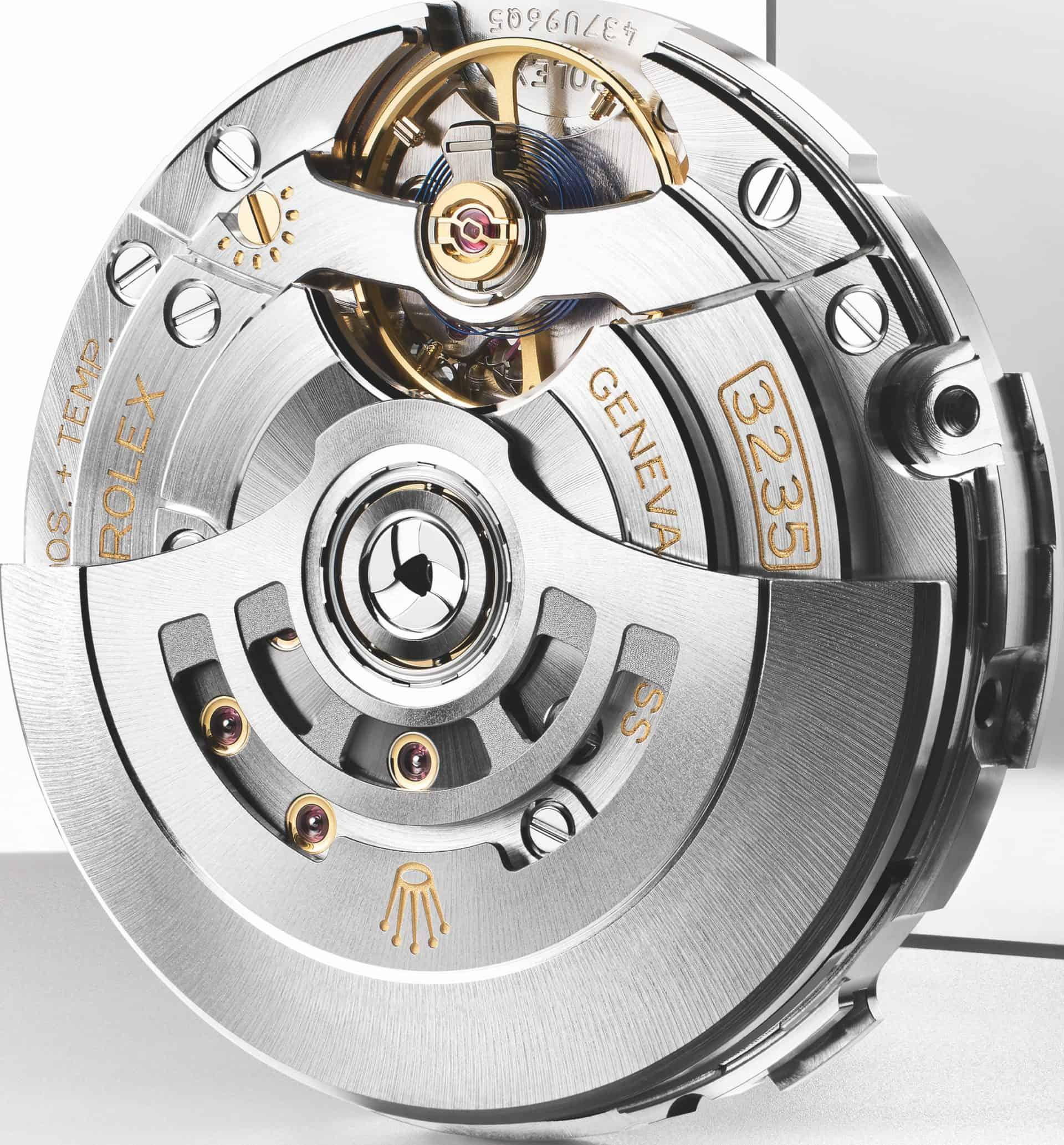 Neueste Werkegeneration aus Biel: Rolex Kaliber 3235