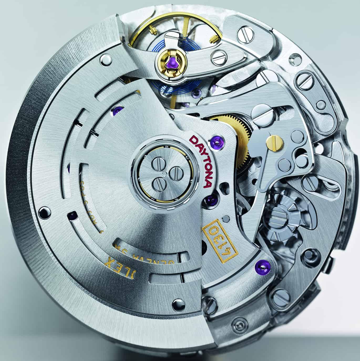 Seit dem Jahr 2000 hat sich das Chronographenkaliber 4130 von Rolex bewährt