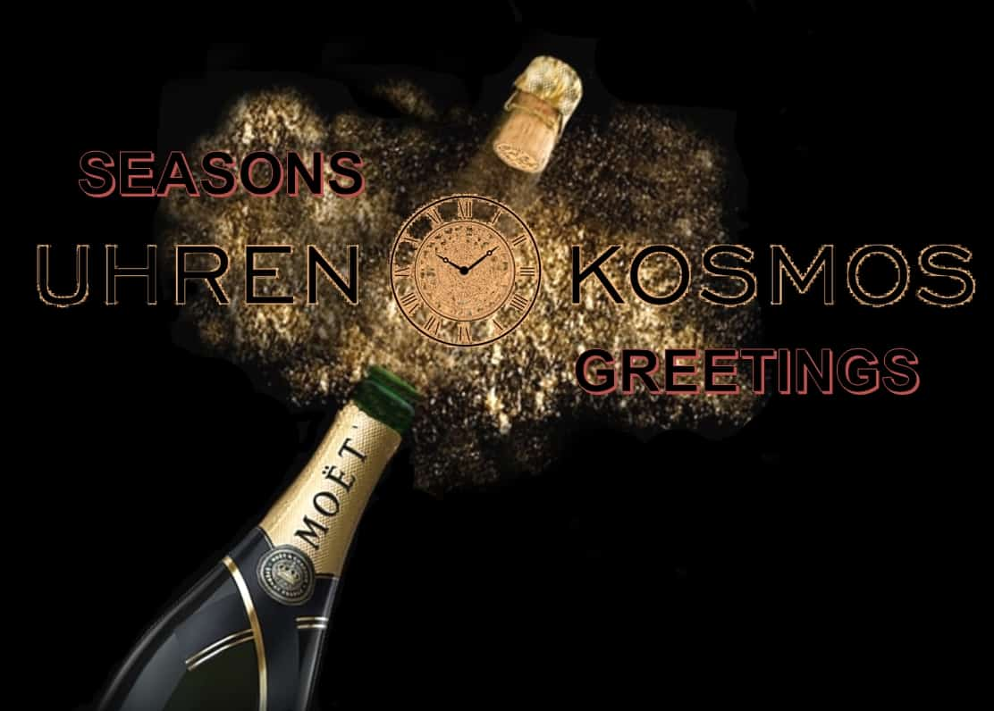 Uhrenkosmos Seasons Greetings