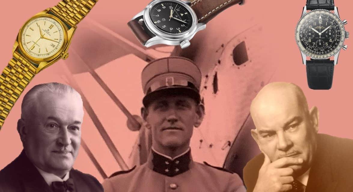 Die Rolex Datejust, IWC Mark 11 und Breitling Navitimer sind 3 echte Uhrenklassiker