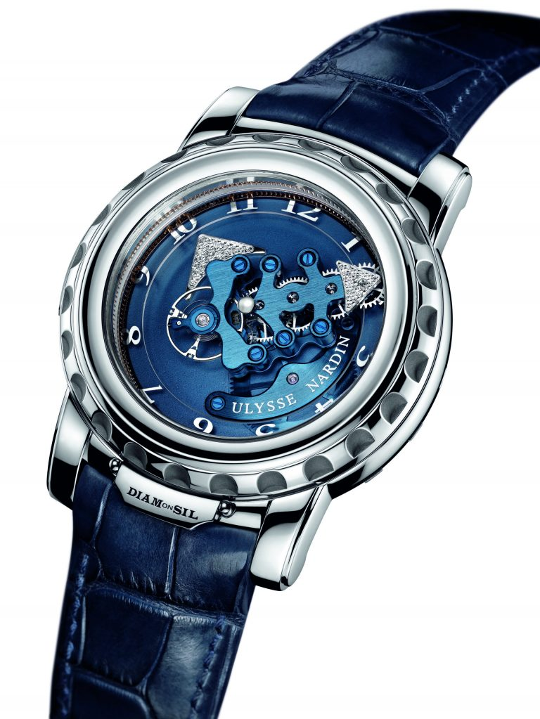 Das ist doch Spitze! Der außergewöhnliche Minutenzeiger der Freak Armband-Uhr