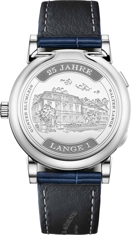 A. Lange Söhne Lange 1 25 Jahre limited Edition Weißgold ALS 191 066 R closed 1812468 1