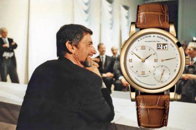 Historisches Interview G. Blümlein über Uhren und A. Lange & Söhne -  Teil 2 1994: Das sagte Günter Blümlein zum Start der A. Lange & Söhne Lange 1