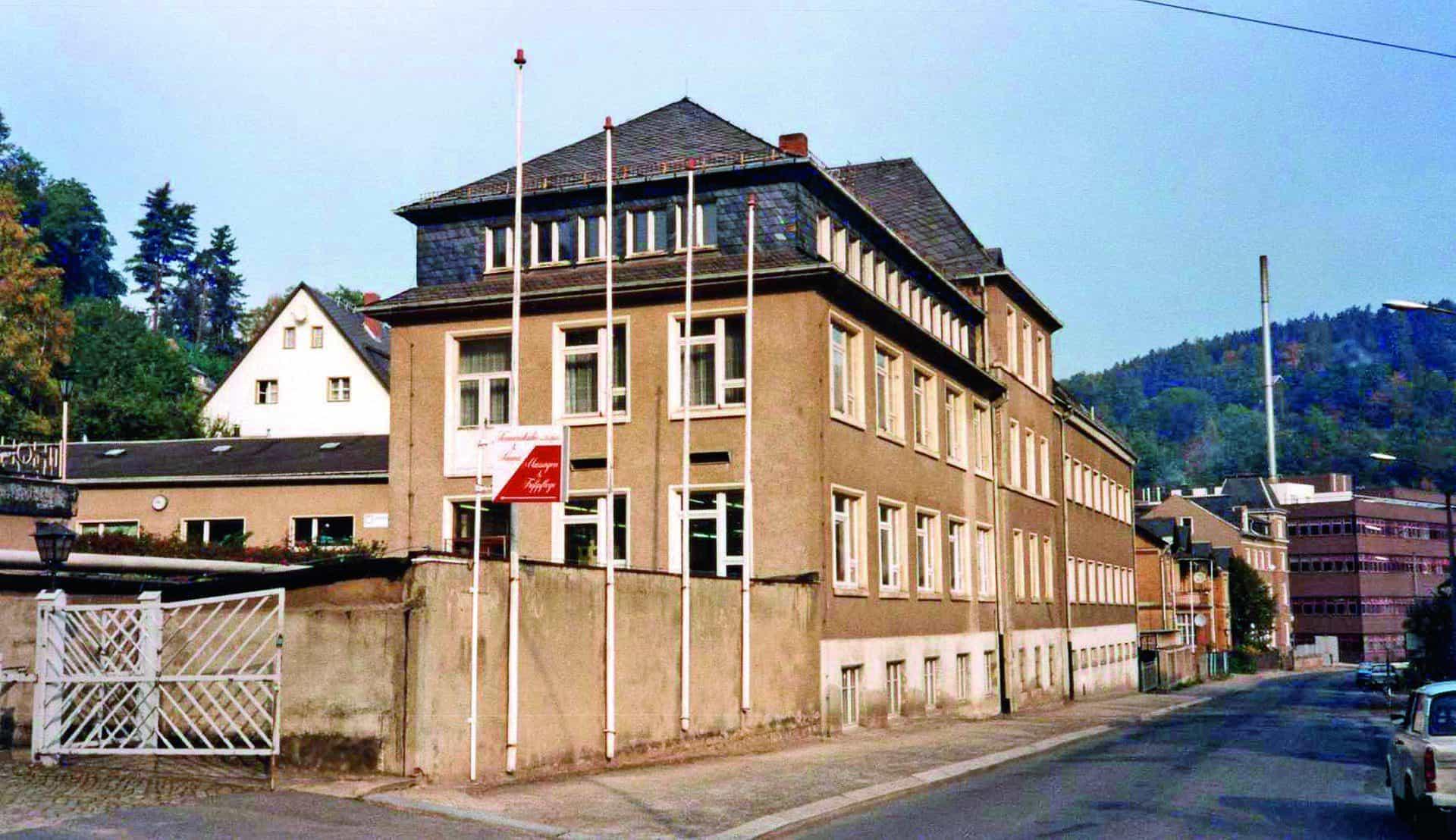 Die bescheidenen Anfänge von A. Lange & Söhne in Glashütte im Jahr 1990