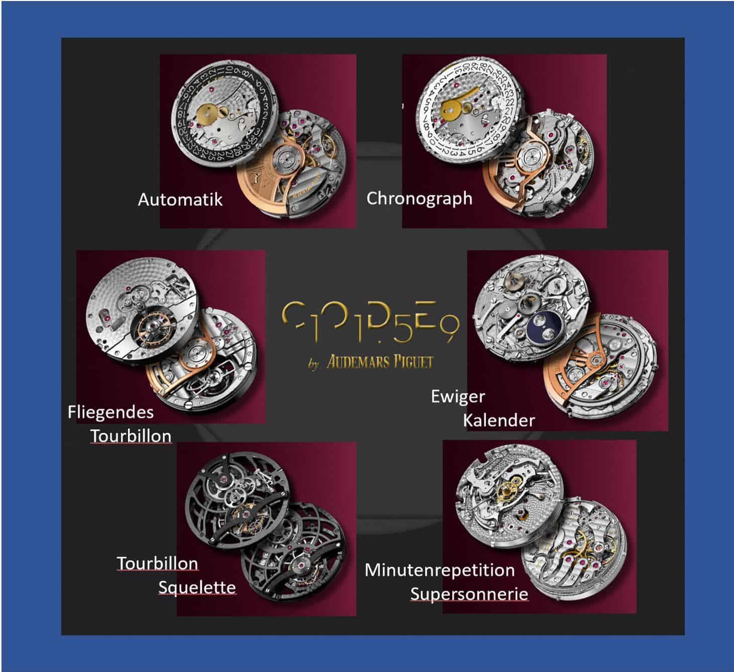 Audemars Piguet bietet in der Code 11.59 Kollektion eine breite Auswahl an ModellenDie Audemars Piguet Code 11.59 gibt es von einfach bis kompliziert