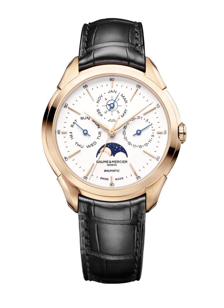 Pimp my Watch: Die neue, erweiterte Clifton Baumatic von Baume & Mercier mit ewigem Kalender
