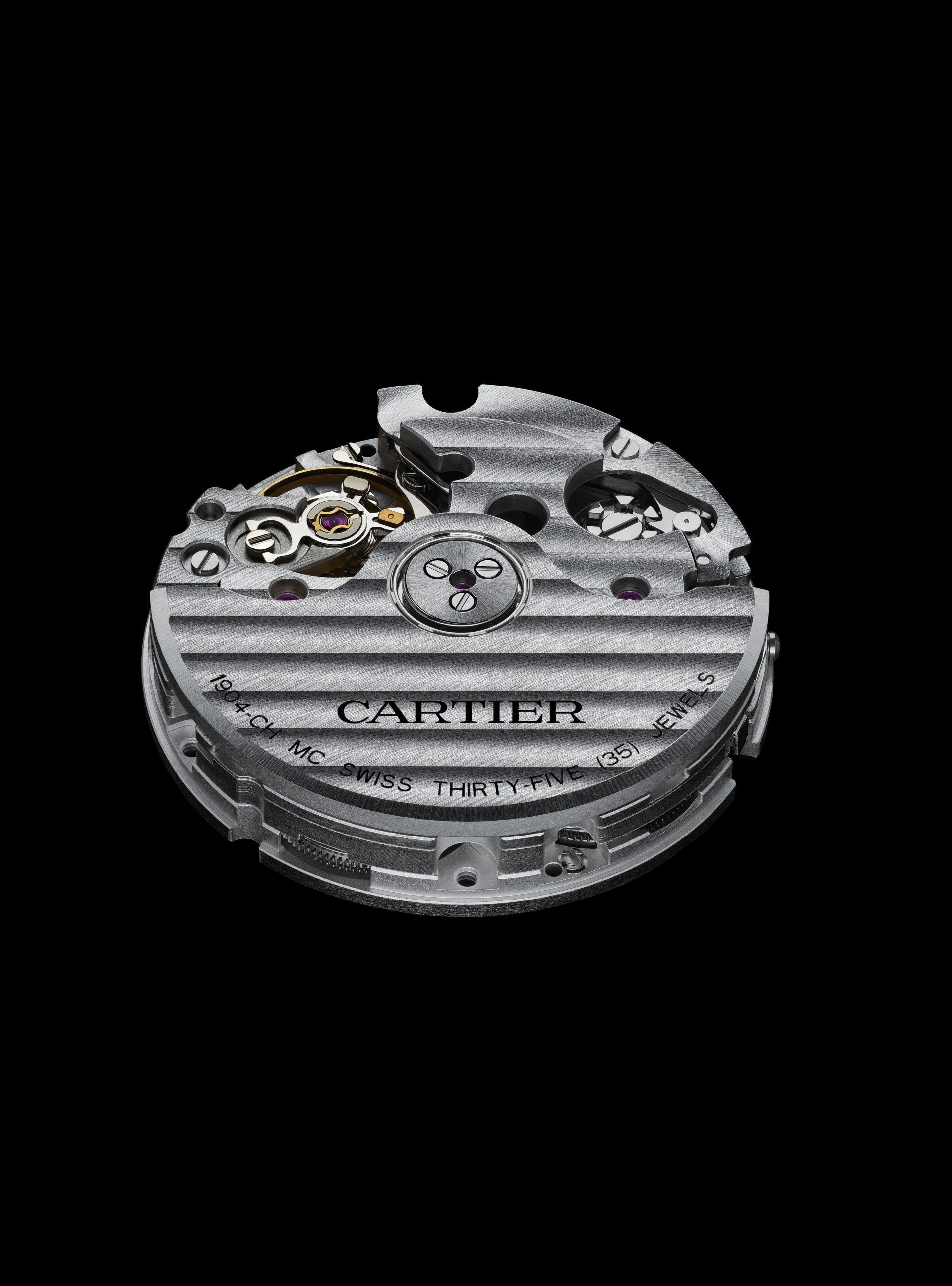 Die Cartier Santos mit ihrem Kaliber 1904 CH MC Automatik