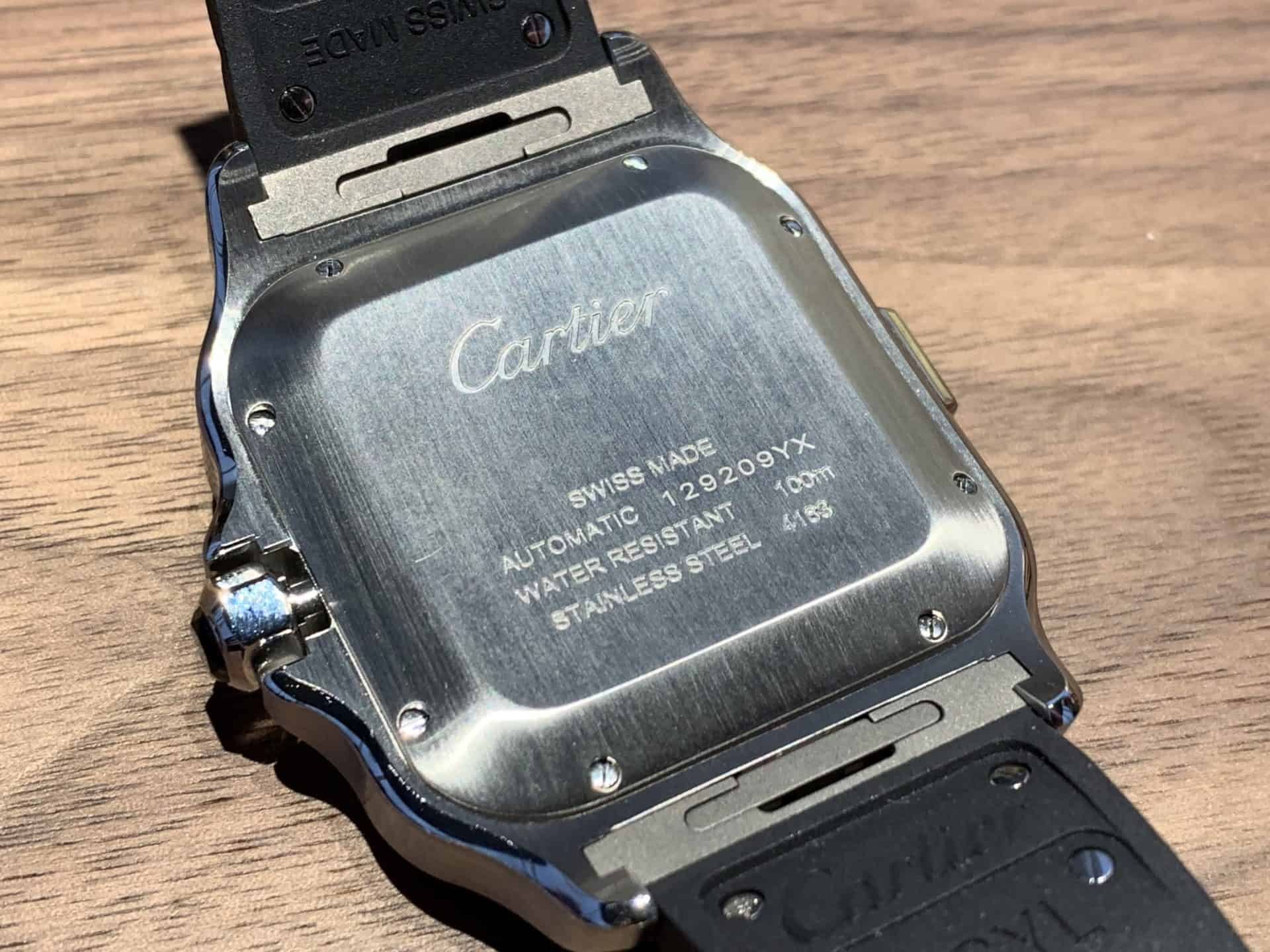 Cartier Santos Chronograph 20191904 CH MX Stahl ADLC 06