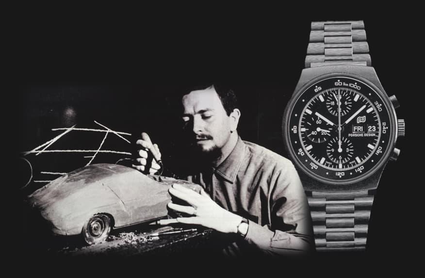 Gestalten war sein Element: Ferdinand A. Porsche, der gestalterische Vater des legendären Porsche 911 und des Porsche Design Chronographen