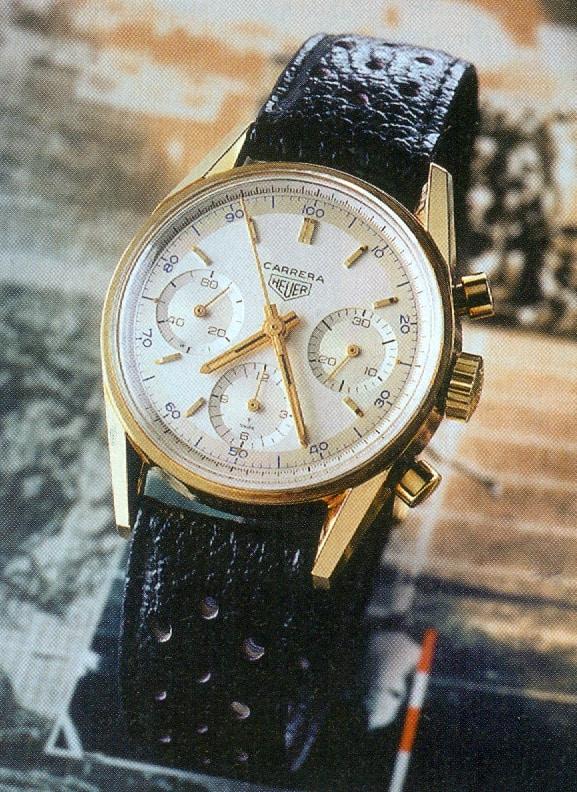 Der Heuer Carrera Re-Edition Chronograph aus dem Jahr 1996