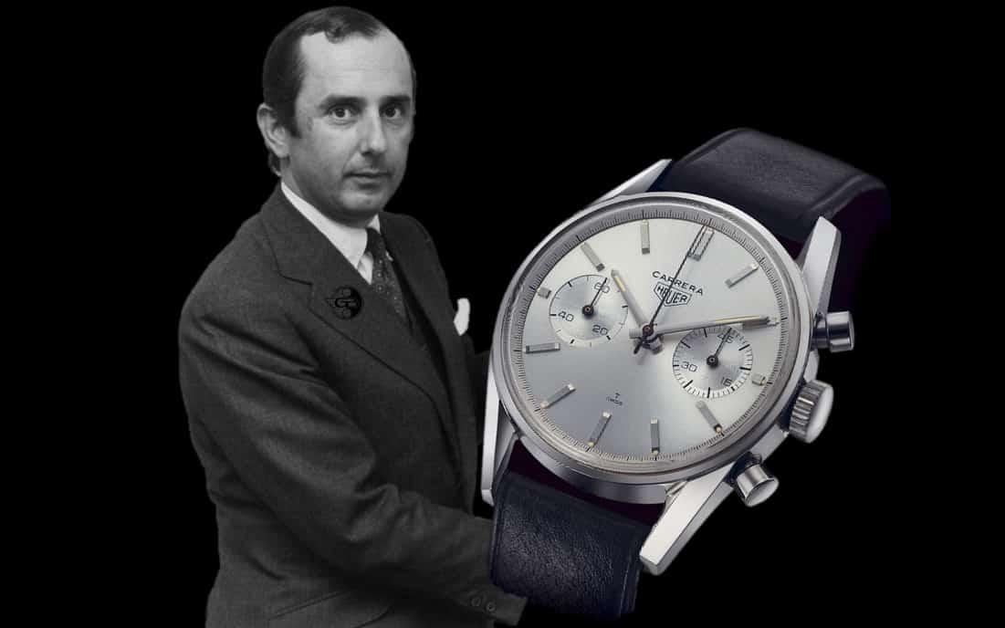 Jack W. Heuer und das Design des ersten Carrera Chronographen im Jahr 1963