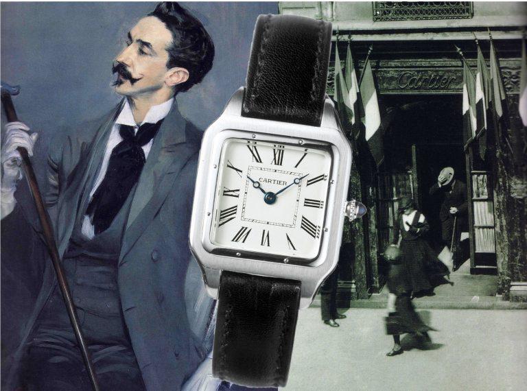 Louis Cartier, seine florierende Boutique und die Cartier Santos des Jahres 1916