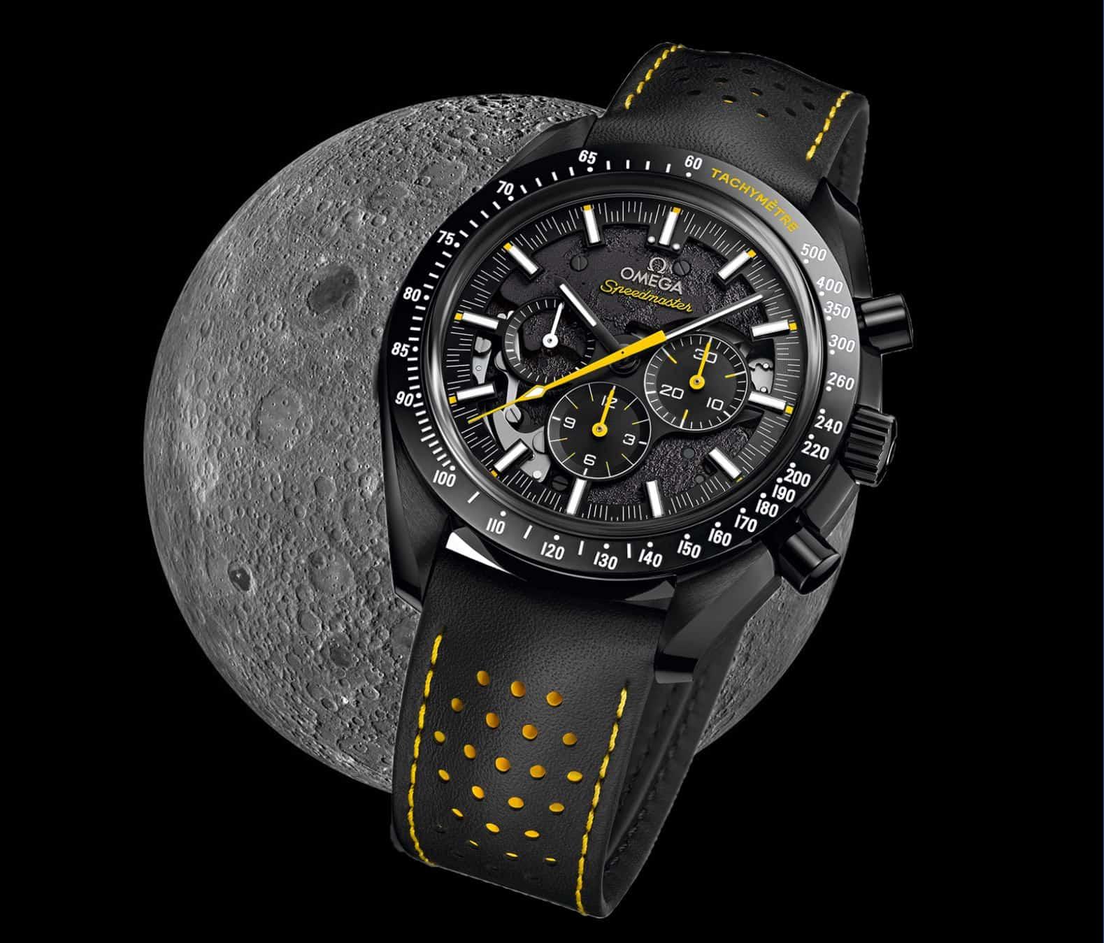 Omega bringt zur Landung auf der Rückseite des Mondes eine Sonderedition der Omega Speedmaster heraus