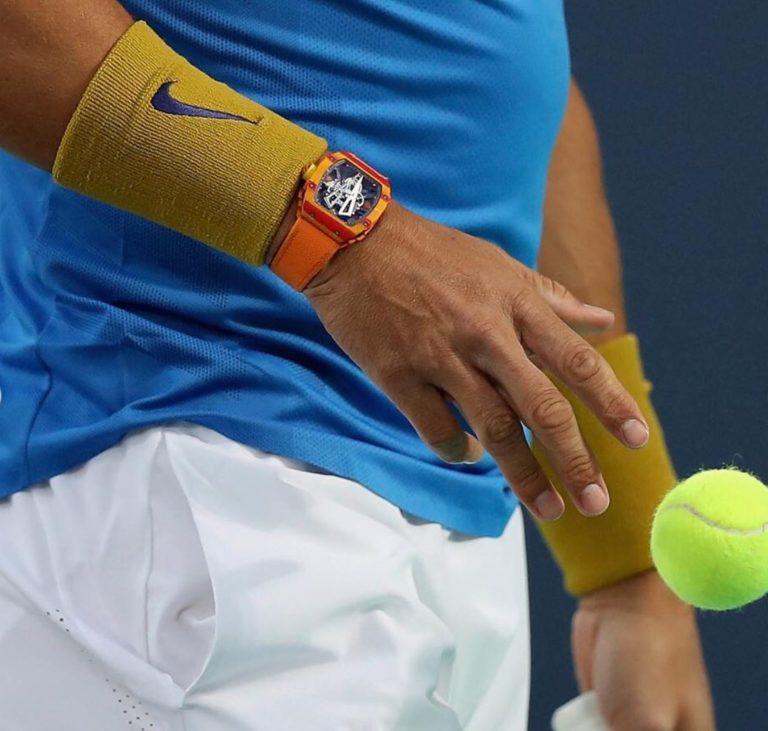 Echte Powerpakete - Rafael Nadal und seine Richard Mille Uhr