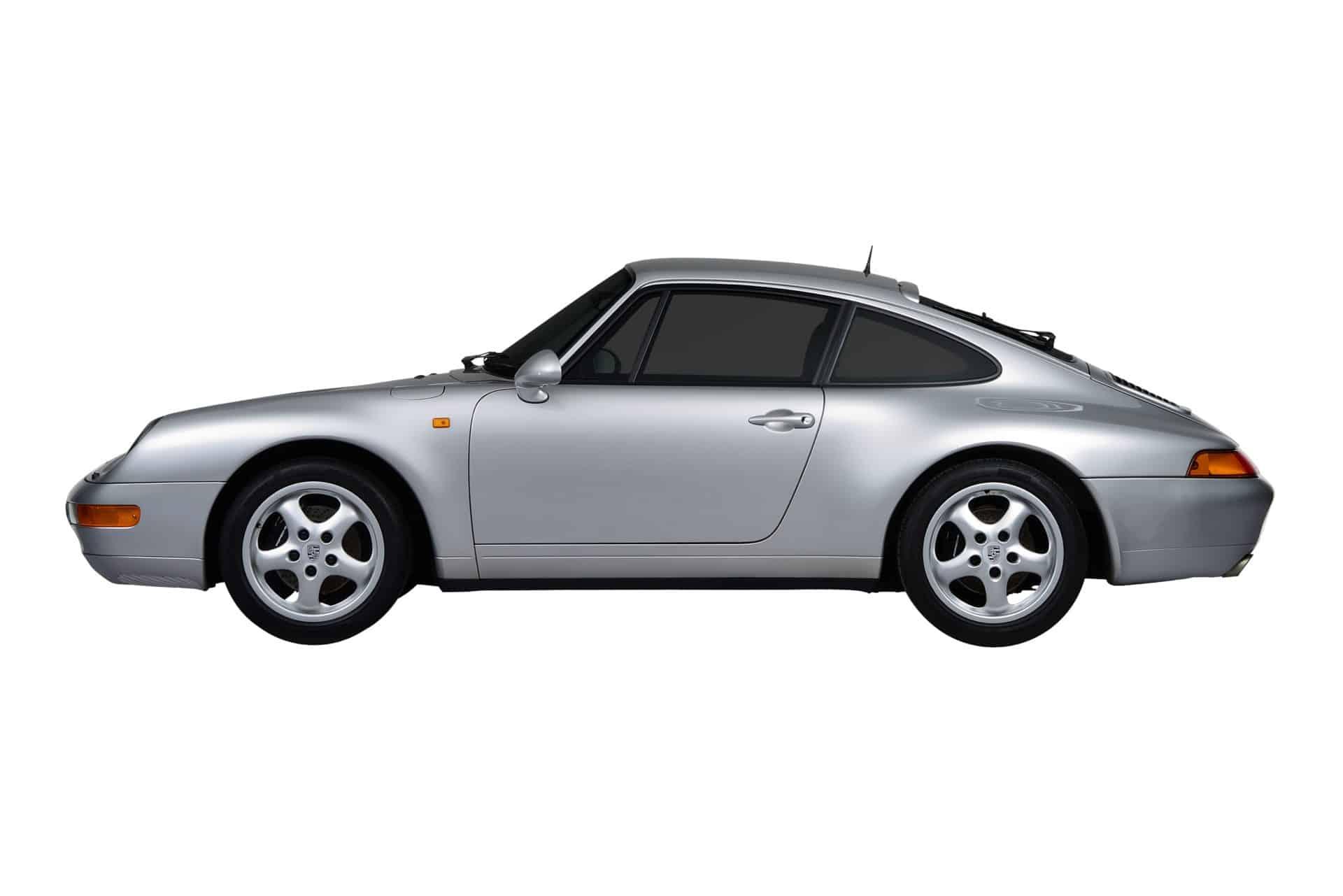 Porsche 911 letzter luftgekühltes Modell 1993