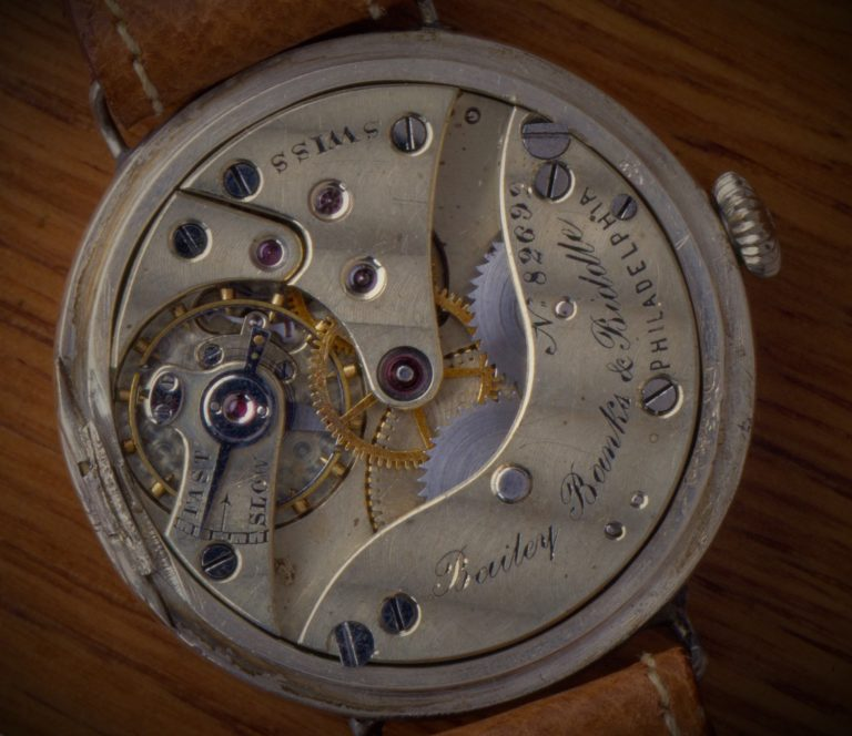 Patek Philippe Uhrwerke sind gut erkennbar