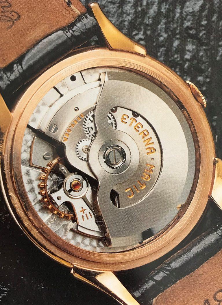 Diese Innovation von Eterna änderte den Uhrenbau: Der neuentwickelte Kugelrotor-Automatikaufzug der Eterna-Matic