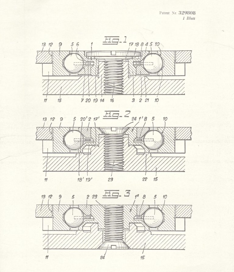Das Patent des Eterna Kugellagerrotors