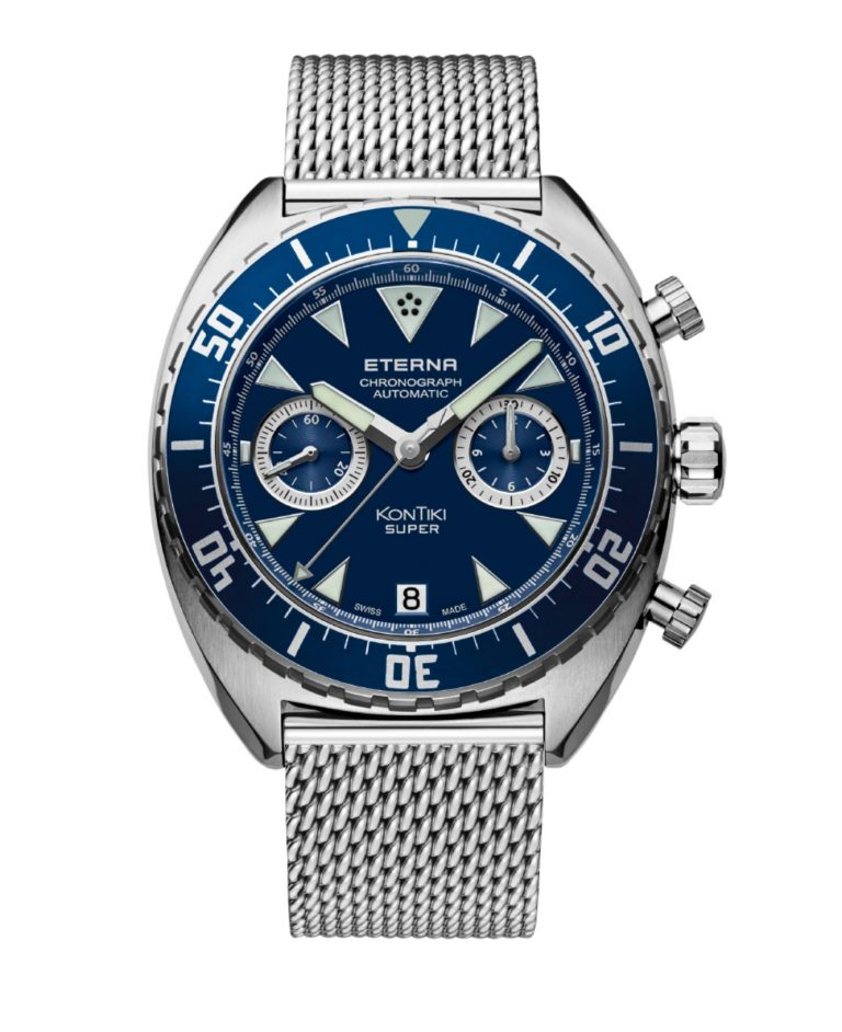 Eterna baut auch heute noch Uhren von hoher Qualität und - dank des Kugellagerrotors - ausreichender Gangreserve.