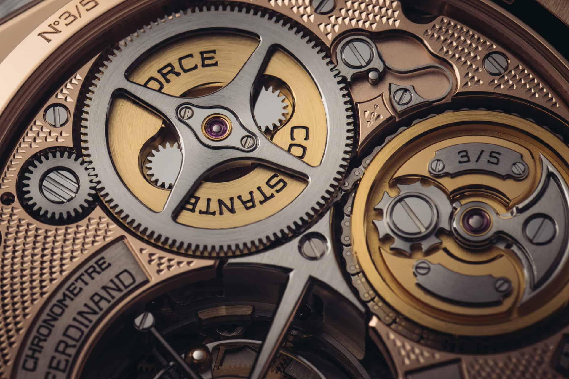 Ferdinand Berthoud Uhrwerk 5 Exemplare limitiert