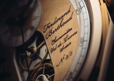 Ein großer Name auf der Uhr verewigt - Ferdinand Berthoud - Uhrmacher