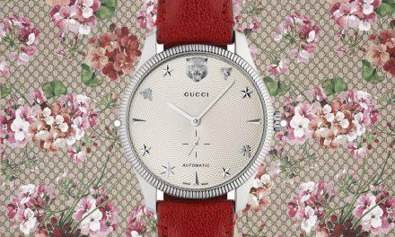 Die Gucci G-Timeless zeigt es : Mode und mechanische Uhr sind kein Widerspruch