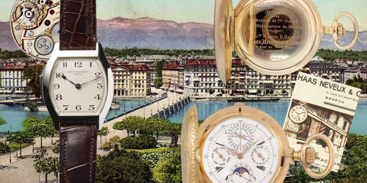 Über die berühmte Luxus-Uhrenmarke Haas Neveux & Cie. ist die Zeit hinweg gegangen