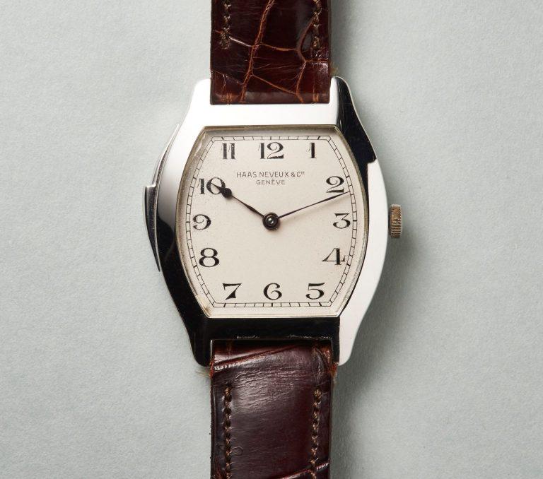 Die Haas Neveux Minutenrepetition ca. 1929 war sehr hochwertig