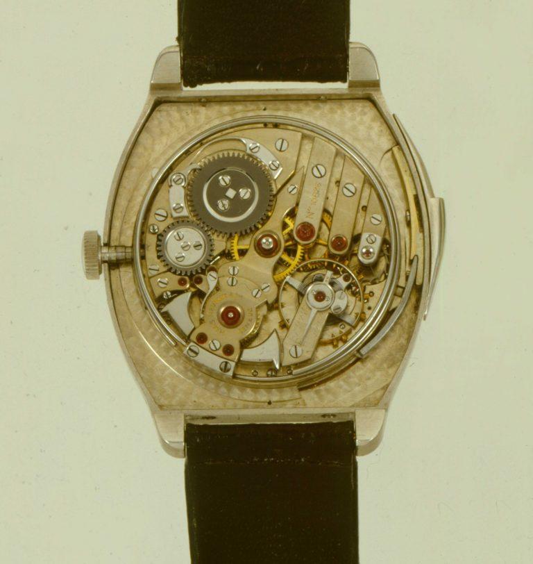 Die Haas Neveux Minutenrepetition ca. 1929 hat ein auch heute noch schönes Werk