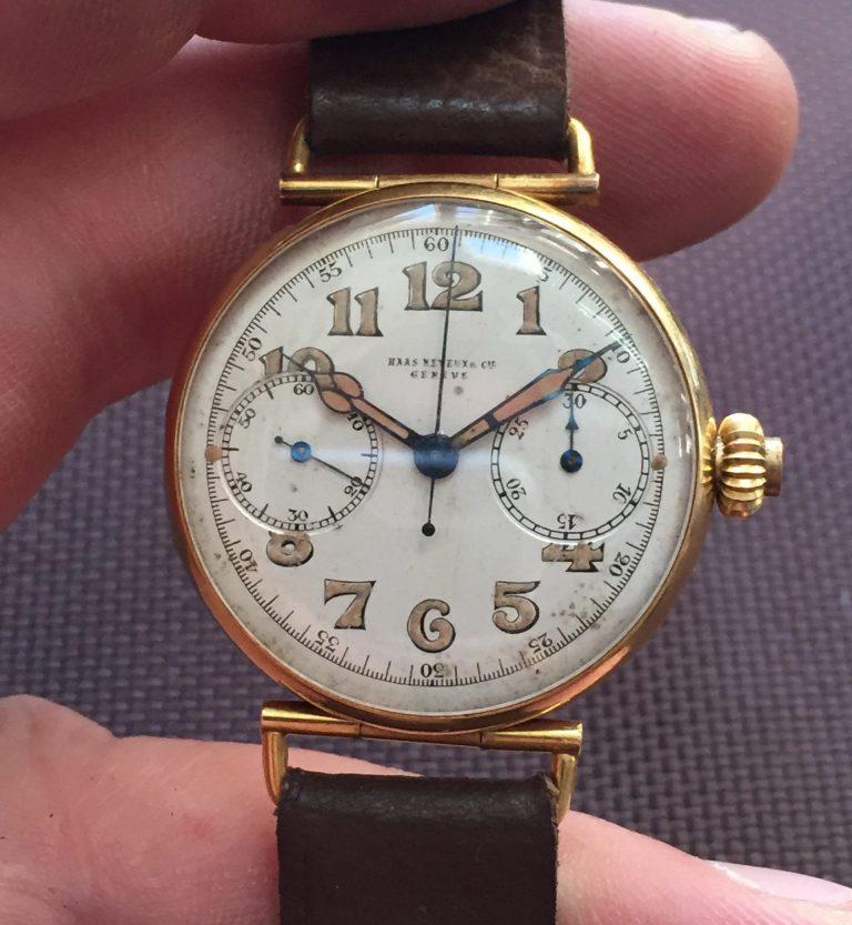 Die Uhren von Haas Neveux sind beliebte Sammelstücke