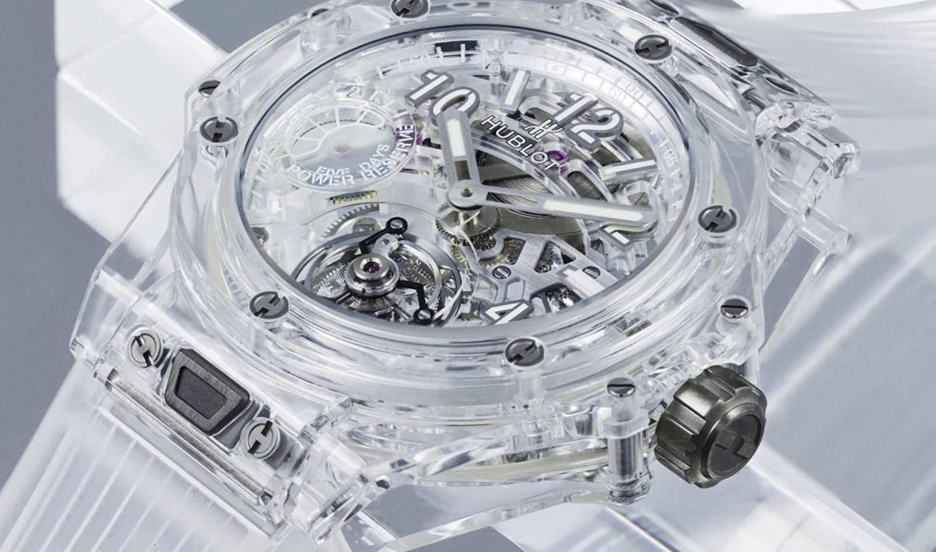 Hublot Big Bang Sapphire Tourbillon Skeleton