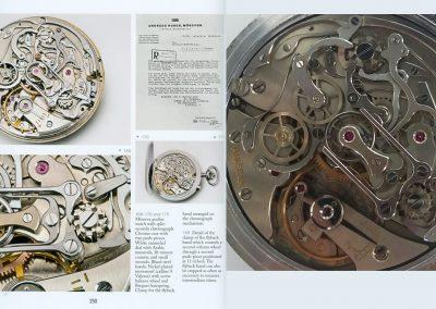 Das Uhrwerk der Minerva Rattrapante anlässlich der Olympischen Winterspiele 1936