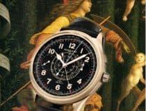 Dank Minerva hat der Montblanc 1858 Chronograph Rattrapante einen Zeiger mehr im Schlepptau