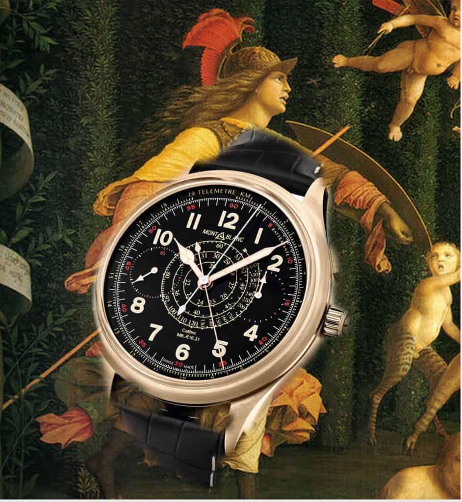 Montblanc 1858 Chronograph Rattrapante Split Second