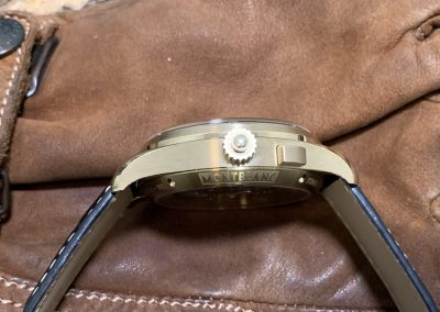 Der 14,55 mm Bauhöhe des Montblanc Rattrapante Chronographen