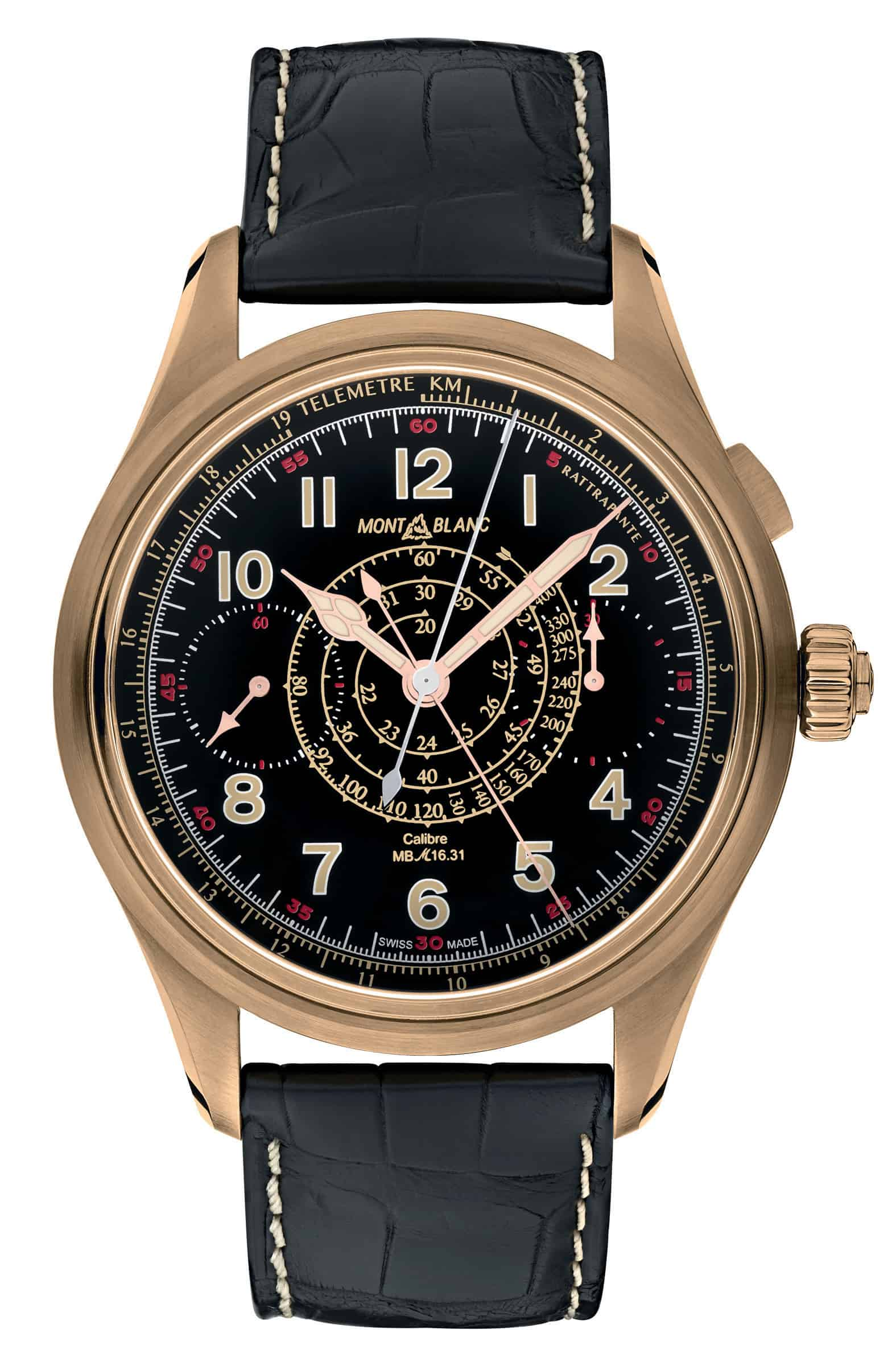 Montblanc 1858 Chronograph Rattrapante