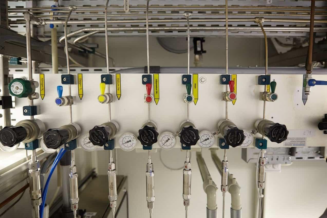 Ohne Gase gibt es keine Siliziumspiralen - sie sind wichtig im Herstellungsprozess