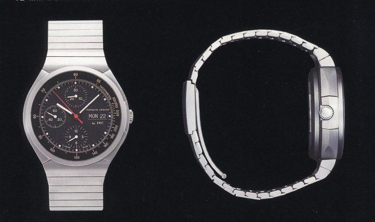Porsche Design Titan Chronograph aus der Zusammenarbeit mit IWC - er wurde ebenfalls zum Klassiker