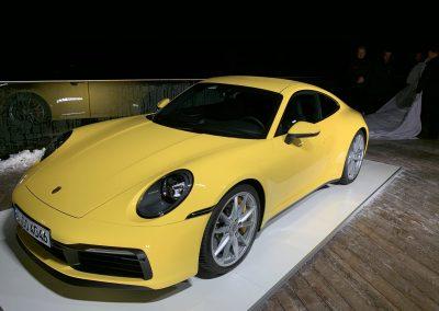 Ein Traum in Gelb - der neue 2019er Porsche 911