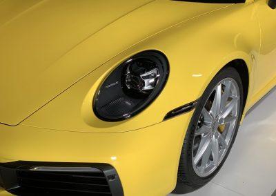 Die typischen Porsche 911 Scheinwerfer