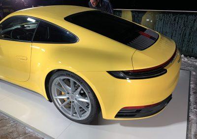 Das vorsichtig weiterentwickelte Heck des Porsche 911 von 2019