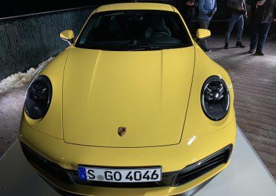 Der neue Porsche 911 von 2019 Modellreihe 992