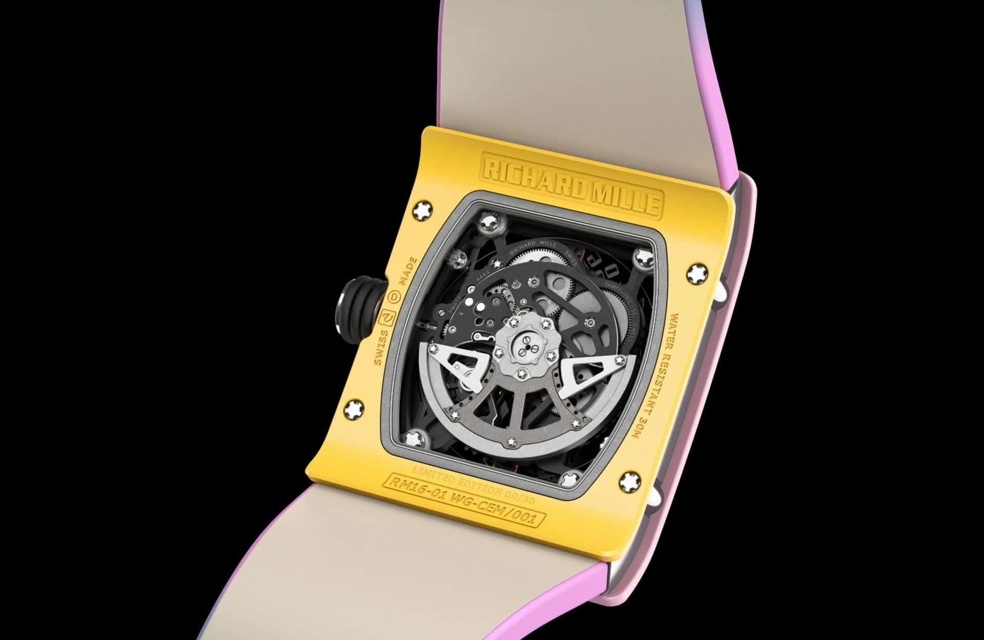Schöner Werkbau der Richard Mille RM 16-01 Réglisse