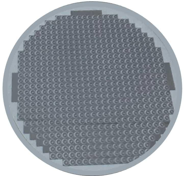 Silizium-Wafer aus dem Unruhspiralen hergestellt werden