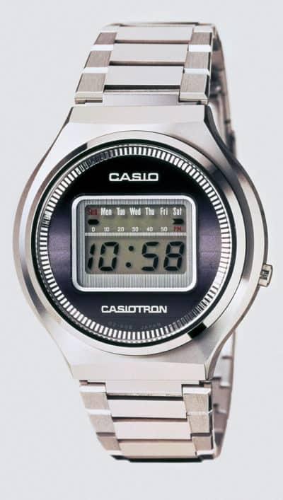 Das Casio Quarzuhren Erfolgsmodell Casiotron von 1974