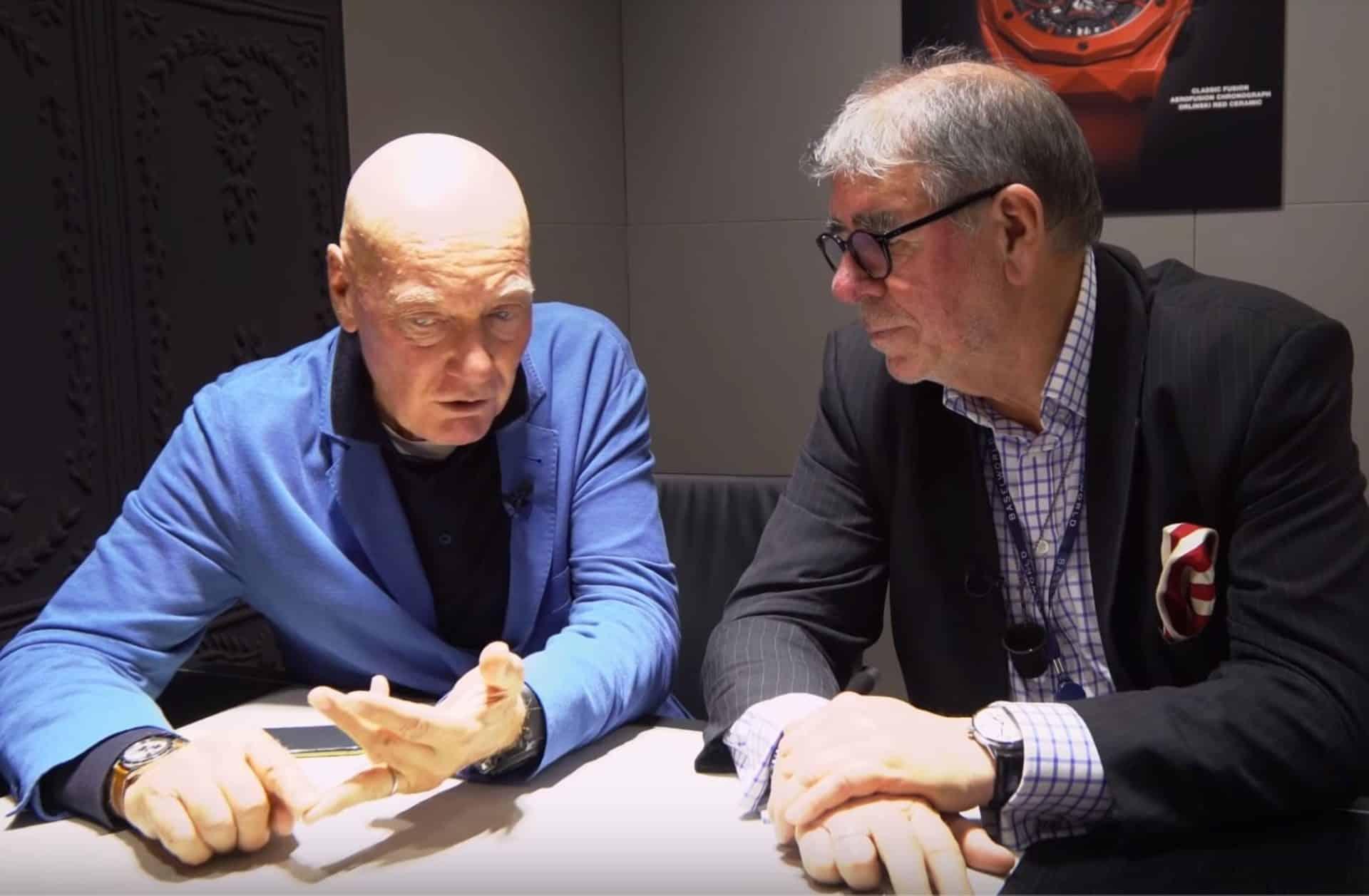 """Chrono Sapiens Jean-Claude BiverJean-Claude Biver: """"Ich möchte etwas zurückgeben"""""""