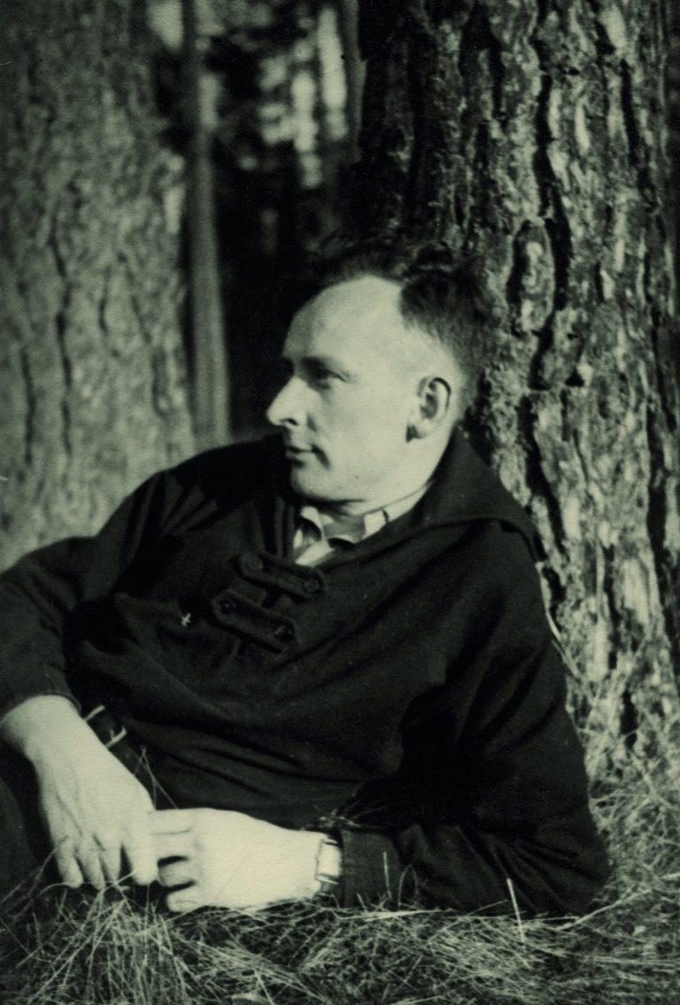 Uhrenmanager Dr. Ernst Kurtz in einer frühen Fotografie